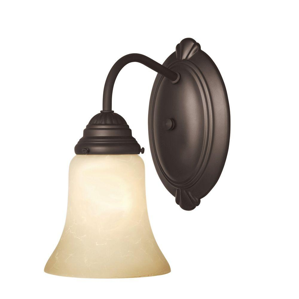 Westinghouse Trinity Ii 1-Light Oil Rubbed Bronze Wall Fixture