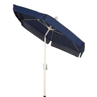 7.5 ft. Patio Umbrella in Navy Blue