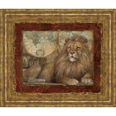 """22 in. x 26 in. """"Domain II"""" Revisited by Ruane Manning Framed Printed Wall Art"""
