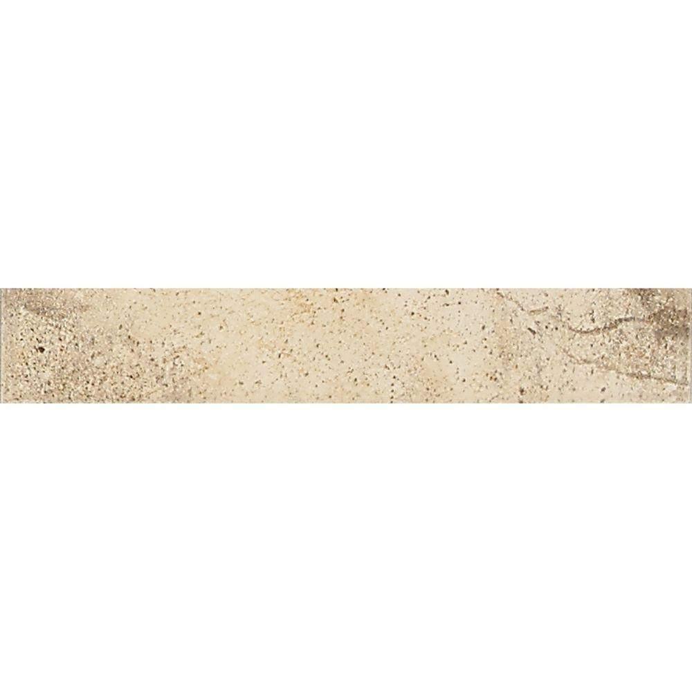 Daltile Sardara Cathedral Beige 2 in. x 12 in. Porcelain Universal Deco Floor and Wall Tile-DISCONTINUED