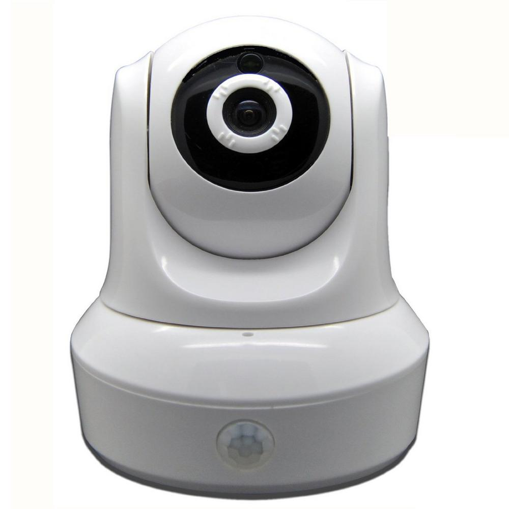 Wireless HD 1080p (2052TVL) Wi-Fi Pan and Tilt Standard Surveillance Camera