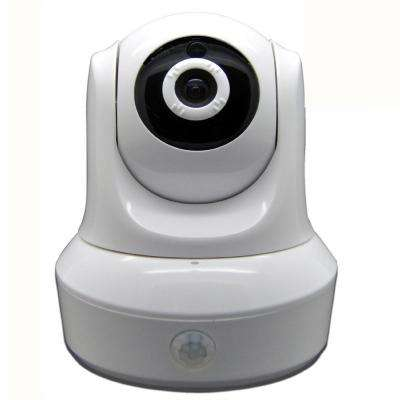 Wireless HD 1080p (2052TVL) Wi-Fi Pan and Tilt Standard Surveillance Camera with 2-Way Audio and Night Vision