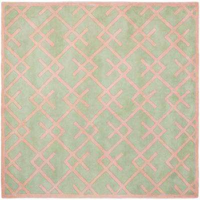 Chatham Green 7 ft. x 7 ft. Square Area Rug