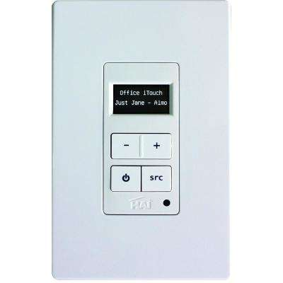 Hi-Fi 2 Volume-Source Control, White