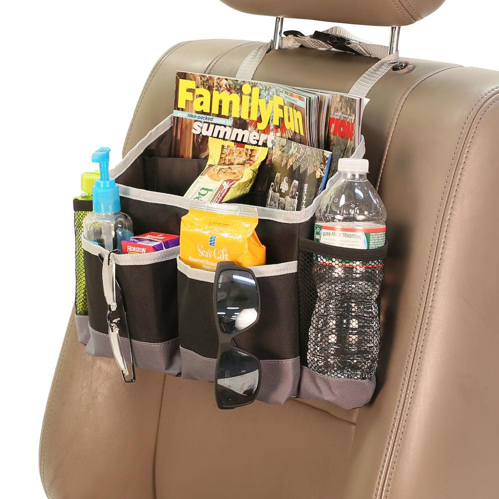 E-Z Travel Multi-Pocket Car Seat Storage Bag