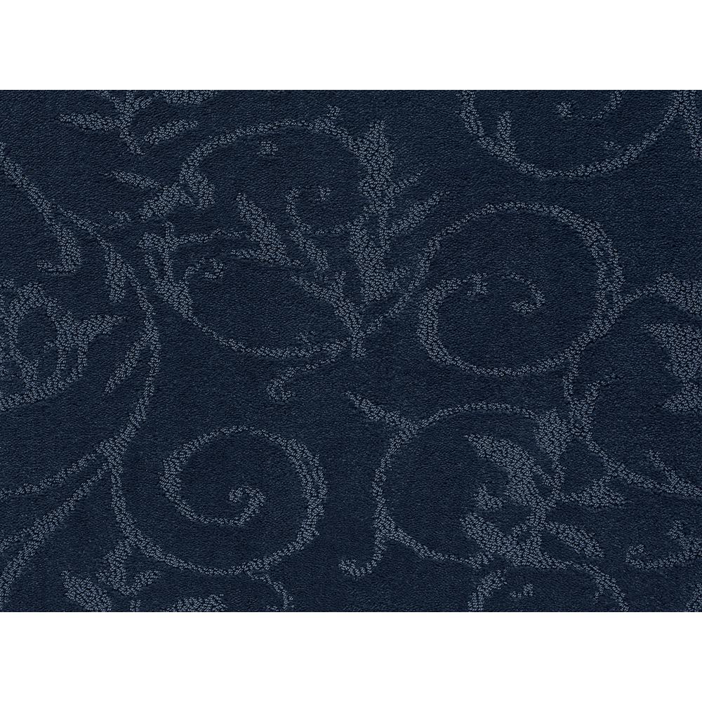 Cheriton - Color Vintage Blue Pattern 12 ft. Carpet