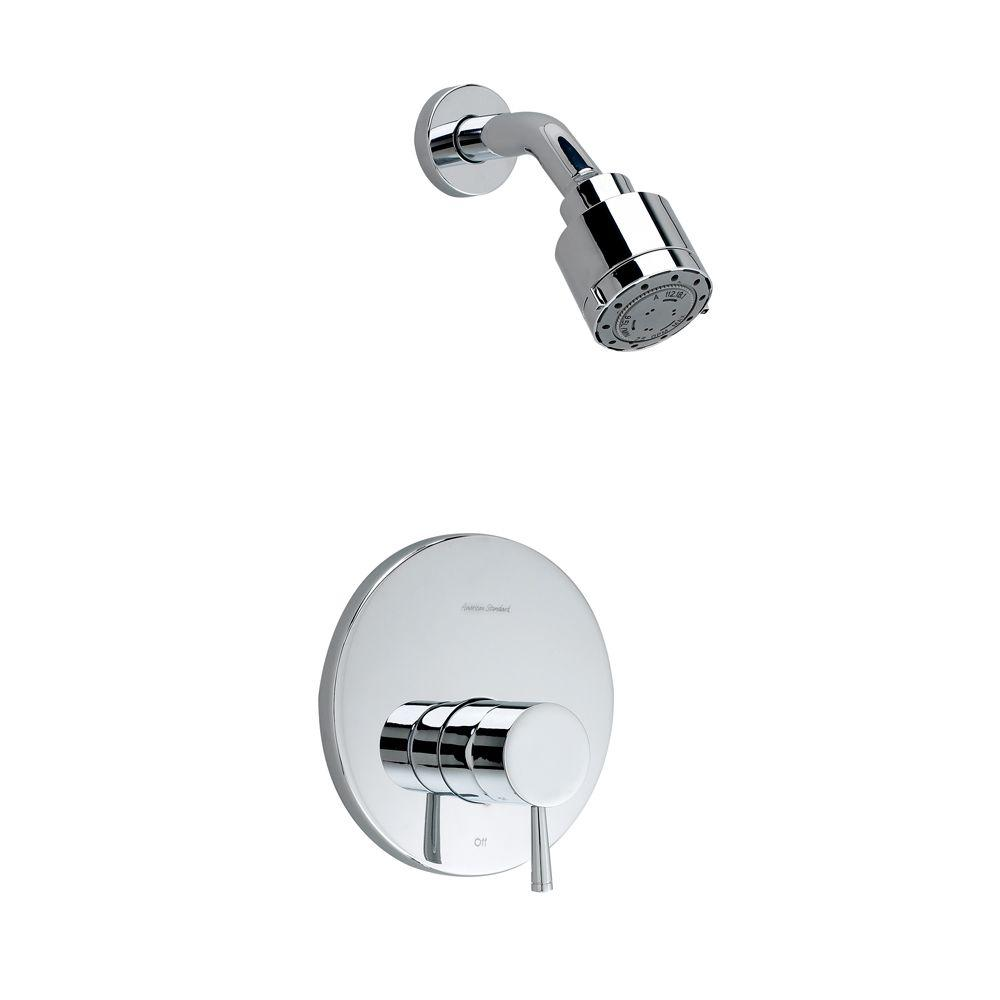 Serin 1-Handle Shower Faucet Trim Kit in Chrome (Valve Sold Separately)