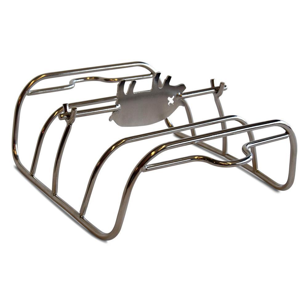 Portable Kitchen Pk Grills Stainless Rib Rack Pk99060