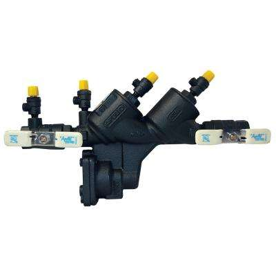 1 in. Reduced Pressure Backflow Preventer, Lead Free, Black