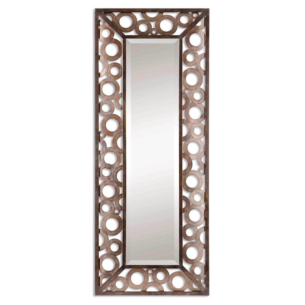 Global Direct 20 in. x 50 in. Agusto Framed Mirror-DISCONTINUED
