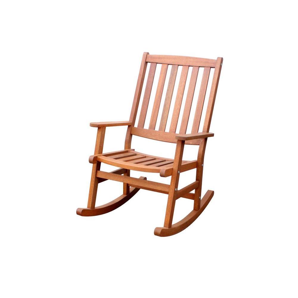 Home Styles Bali Hai Eucalyptus Outdoor Patio Rocking Chair