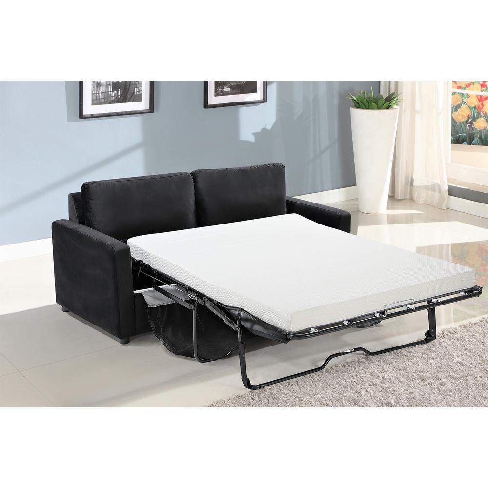 Us Pride Furniture Rivian Black Velvet