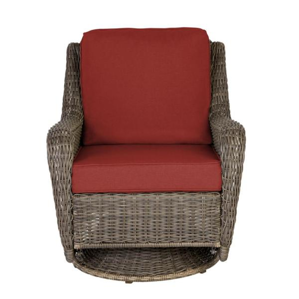 Hampton Bay Cambridge Gray Wicker