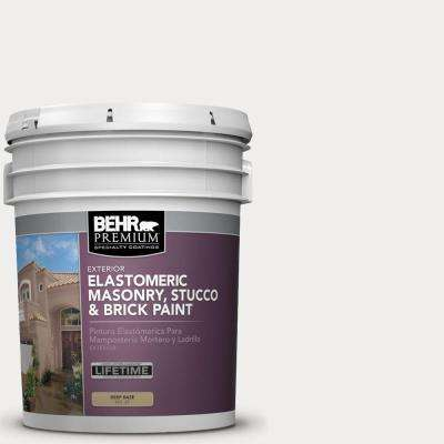 5 gal. #MS-47 Mountain Summit Elastomeric Masonry, Stucco and Brick Exterior Paint