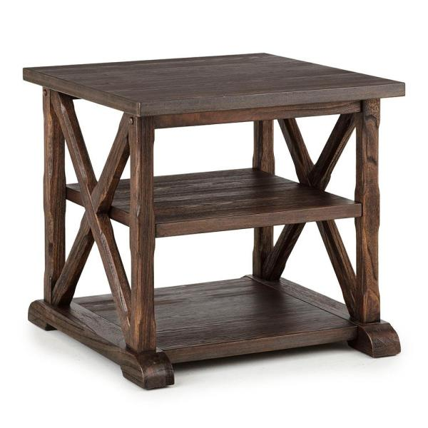 Southfield Weathered Brown End Table