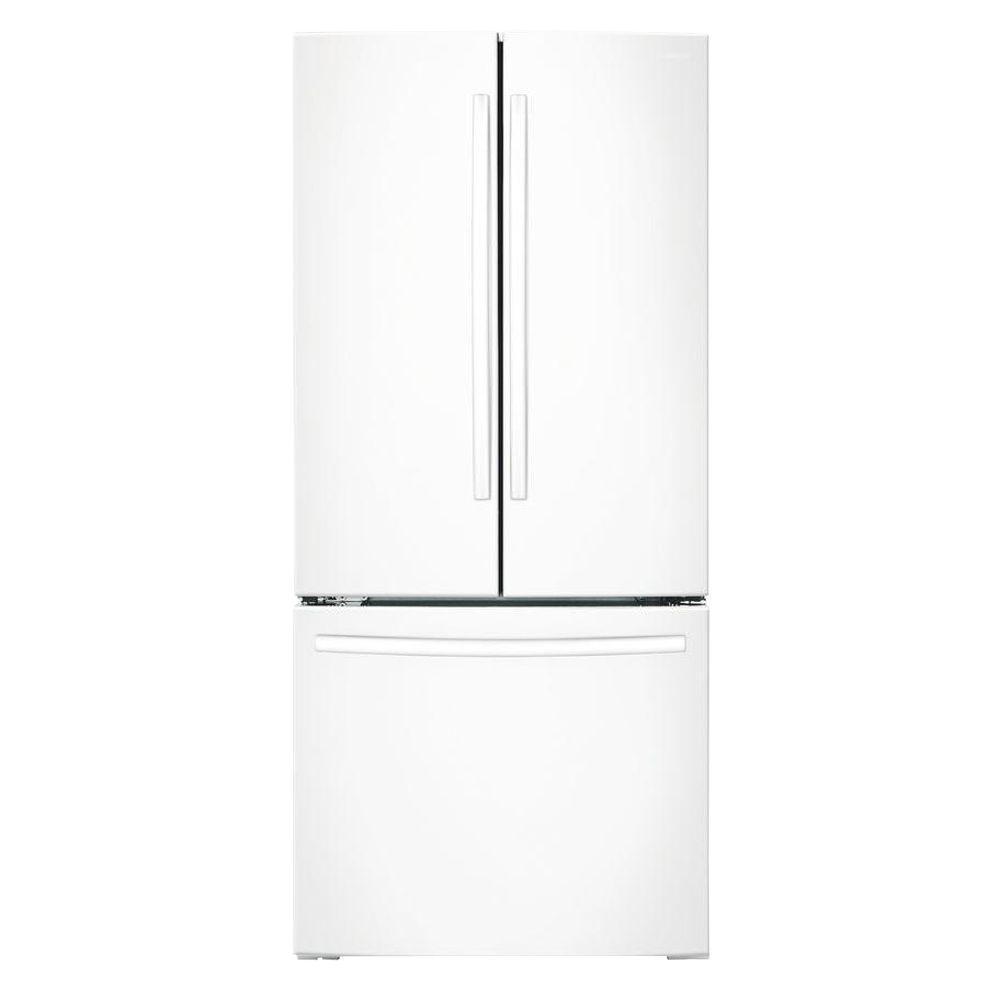 Samsung 21.8 cu. ft. French Door Refrigerator in White