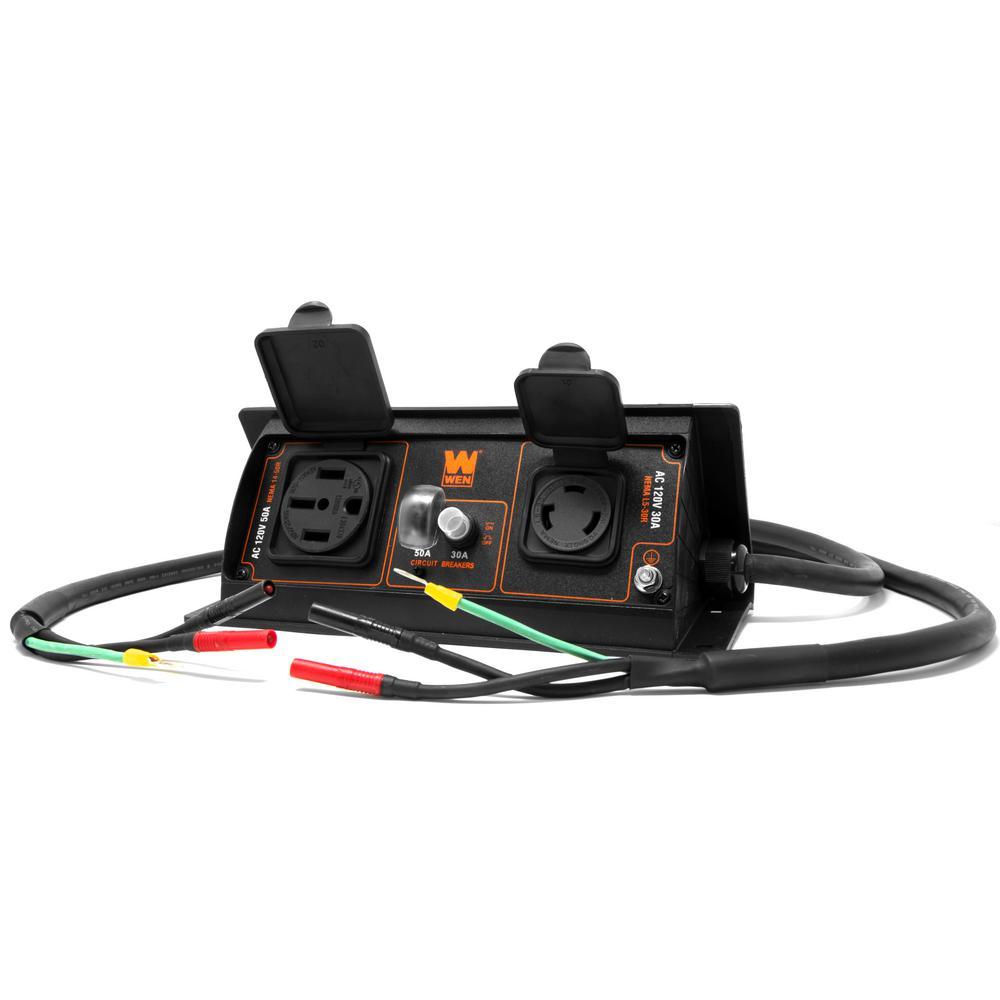 50 Amp 6000-Watt Parallel Connection Kit for Inverter Generators