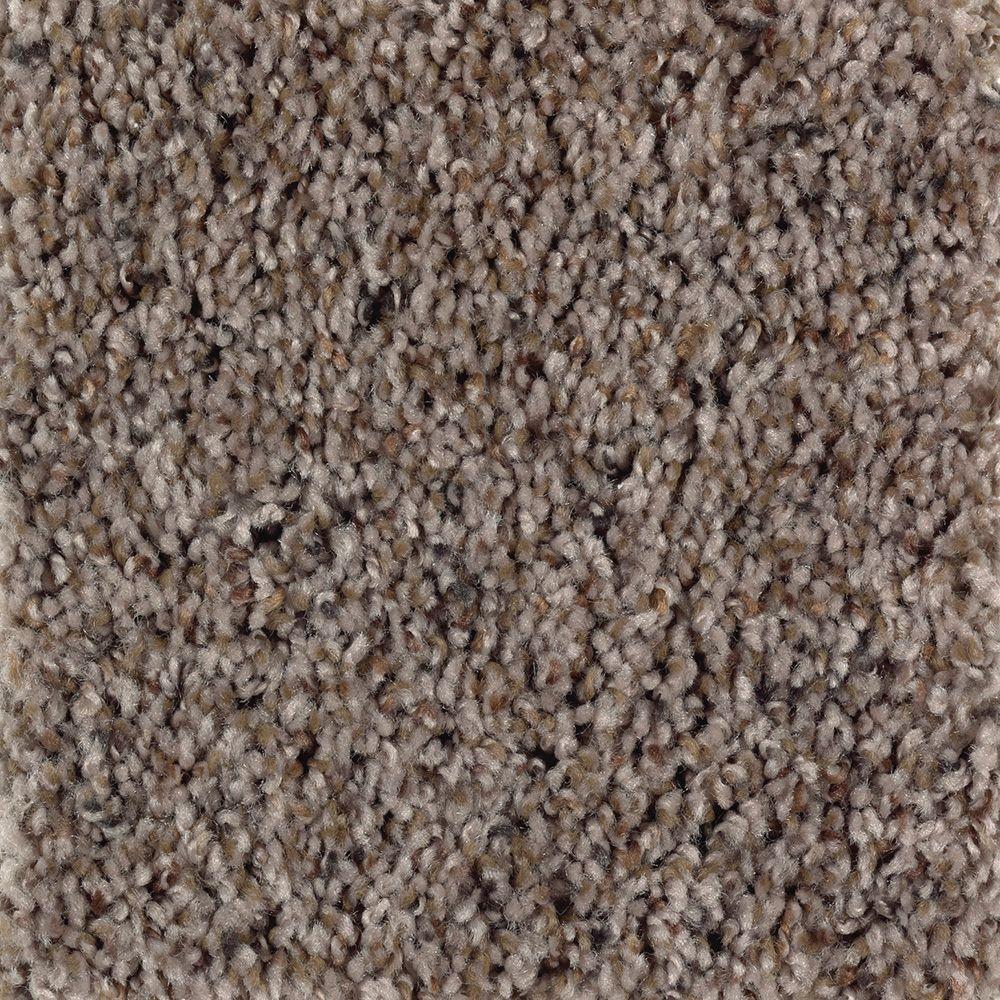 Timberwolf II - Color Woodland Texture 12 ft. Carpet