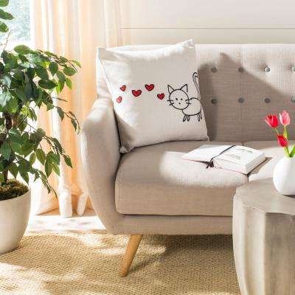 Kitty Love Standard Pillow