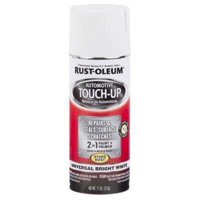 11 oz  Universal Bright White Touch-Up Spray Paint and Primer in One  (6-Pack)