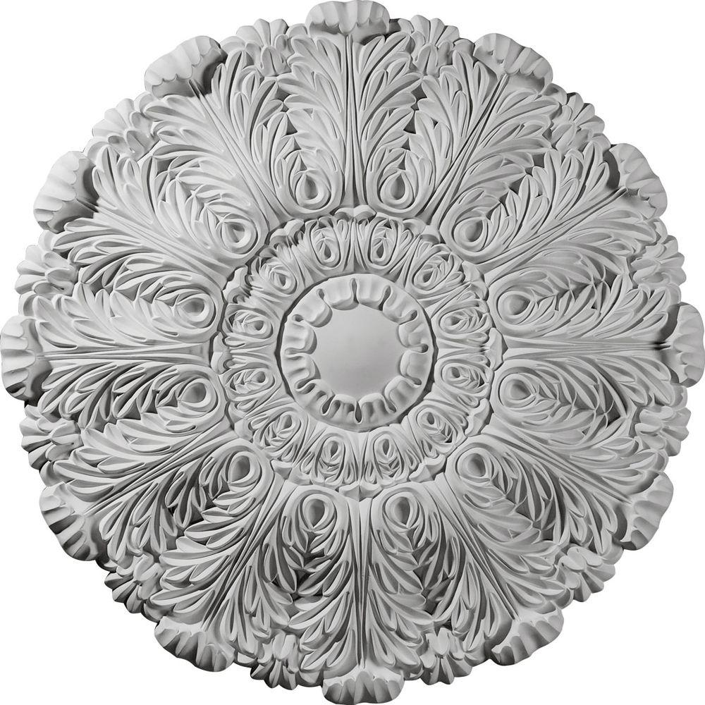 Ekena Millwork 31 in. Durham Ceiling Medallion