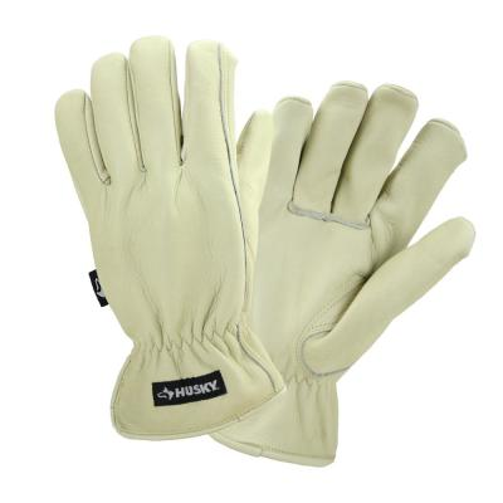 Water Resistant Leather Work Glove - Medium