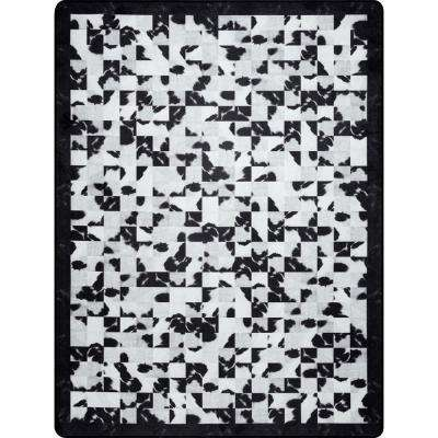 Niesha Abstract Tiles Black And White