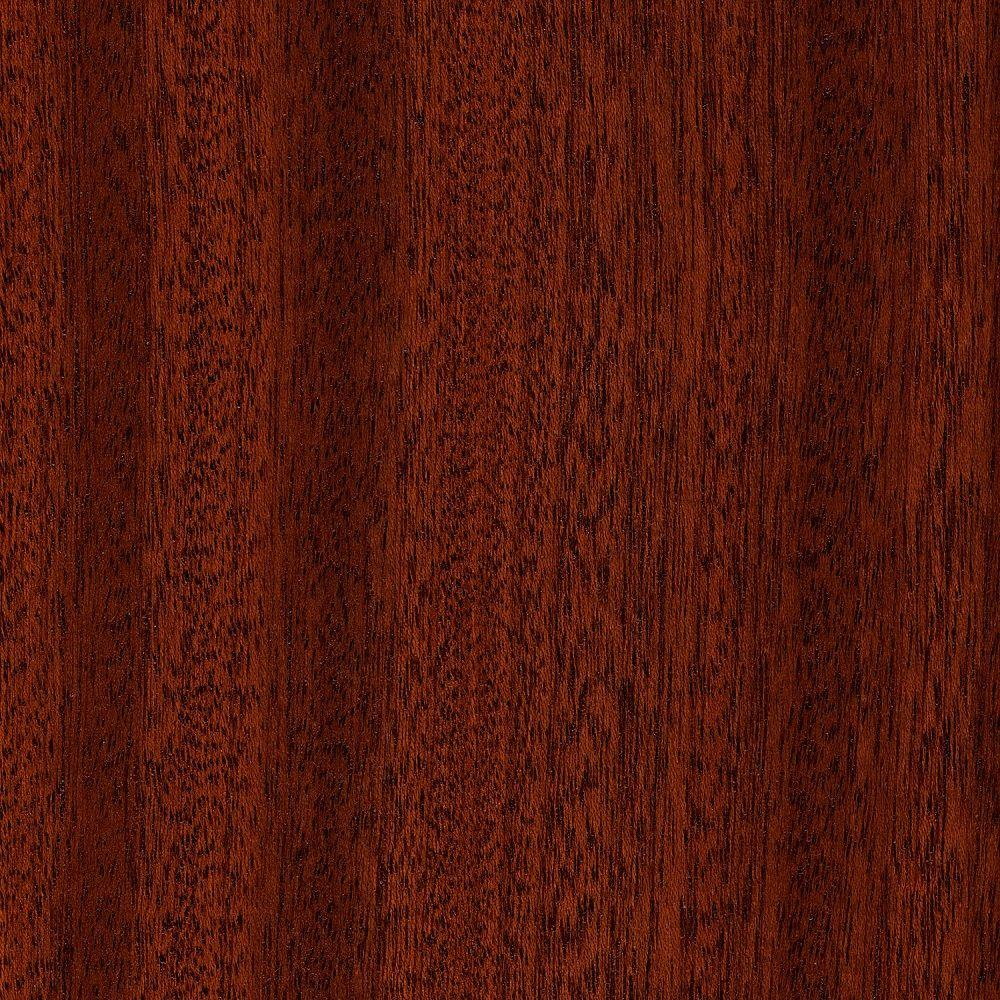 Home Legend Take Home Sample - Matte Corbin Mahogany 3/8 in. Thick Hardwood Flooring - 5 in. x 7 in.