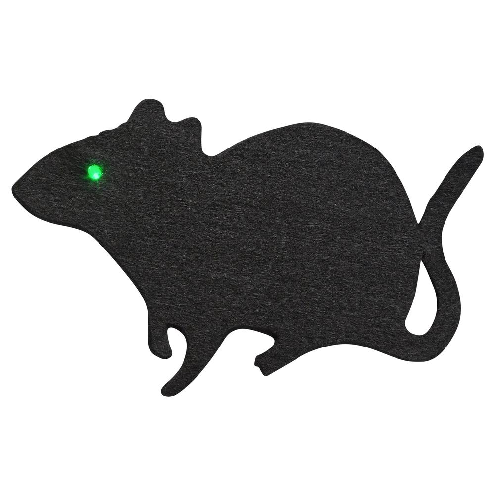 10-Light LED Black Felt Rat Light Set