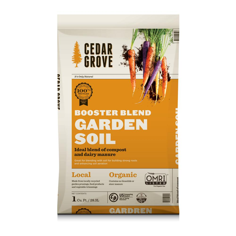 1 cu. ft. Booster Blend- Garden Soil