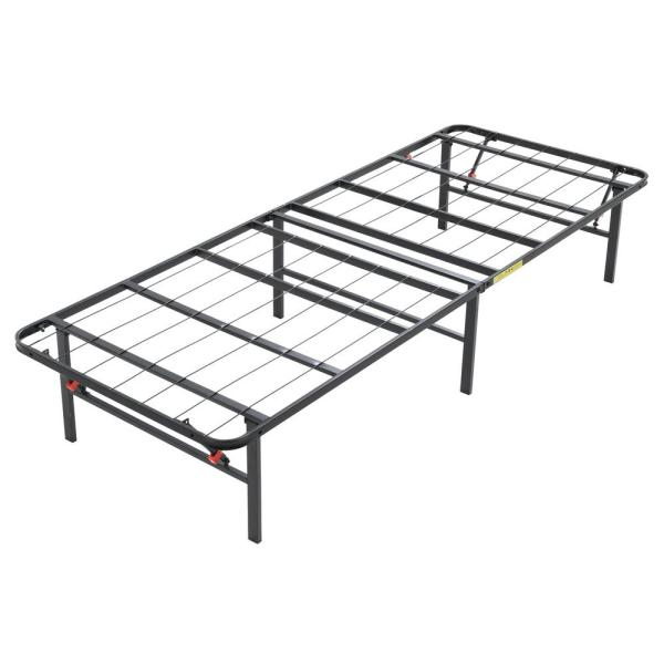 Hercules Hercules Twin Size 14 In H Heavy Duty Metal Platform Bed Frame 125001 5010 The Home Depot
