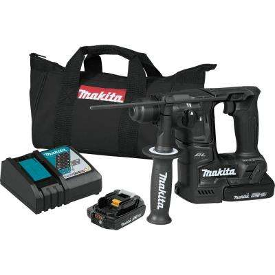 18-Volt LXT Lithium-Ion Sub-Compact Brushless Cordless 11/16 in. Rotary Hammer Kit, accepts SDS-PLUS bits (2.0Ah)