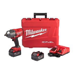 Milwaukee M18 FUEL 18-Volt Lithium-Ion Brushless Cordless 1/2 inch Gen II High Torque Impact Wrench with Pin Detent 5.0... by Milwaukee
