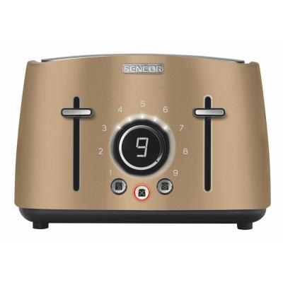 4-Slice Champagne Toaster with Rack