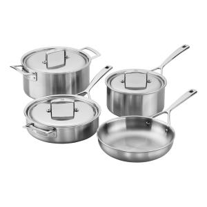 Zwilling Aurora 7-Piece 5-Ply Stainless Steel Cookware Set