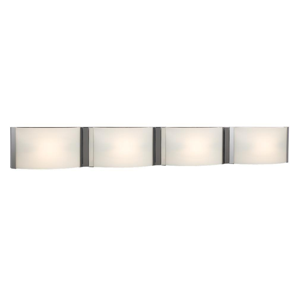 bathroom halogen lights filament design negron 4 light chrome halogen bath vanity 10771