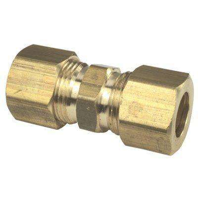 1/2 in. O.D. Compression No-lead Brass Compression Union