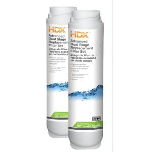 HDX Dual Stage Replacement Water Filter Set (Fits GE GXSV65, GQSV65, GNSV70 and GNSV75 Systems) by HDX