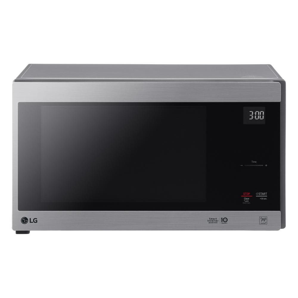 Lg Electronics Neochef 1 5 Cu Ft Countertop Microwave In Stainless Steel