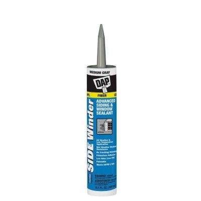 Sidewinder 10.1 oz. Medium Gray Advanced Polymer Siding and Window Sealant (12-Pack)