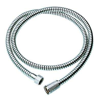 Relexaflex 59 in. Metal Shower Hose in Chrome