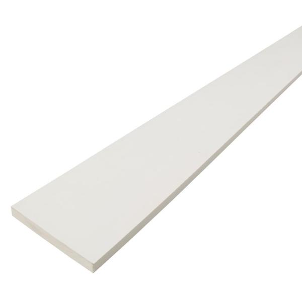 1 in. x 8 in. x 12 ft. Radiata Pine Finger Joint Primed Board