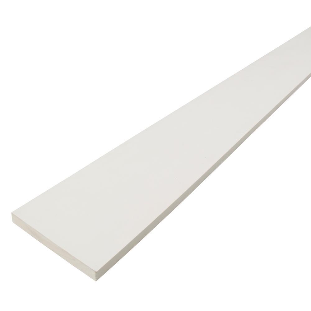 Primelinx 1 In X 8 In X 12 Ft Radiata Pine Finger Joint Primed Board 253251 Nodesale