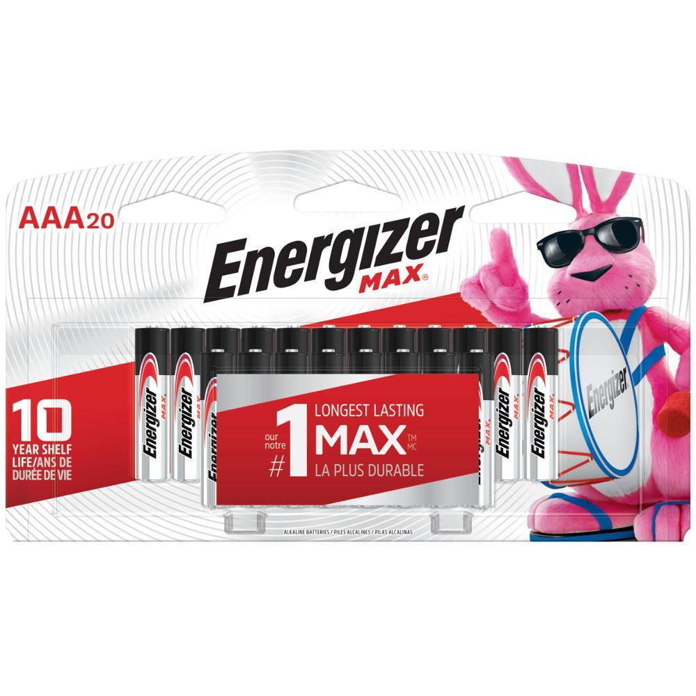 AAA Alkaline Battery (20-Pack)