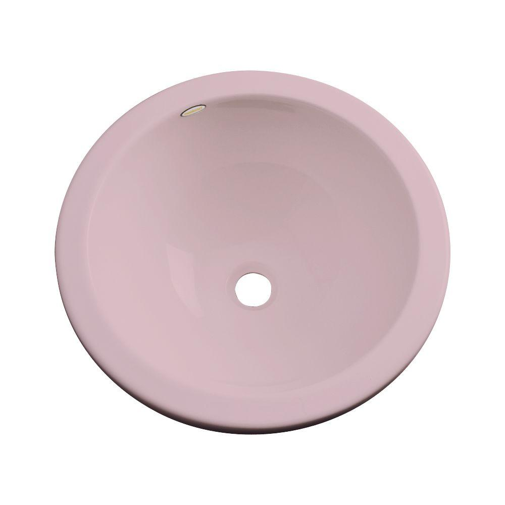 Thermocast Calio Undermount Bathroom Sink in Wild Rose