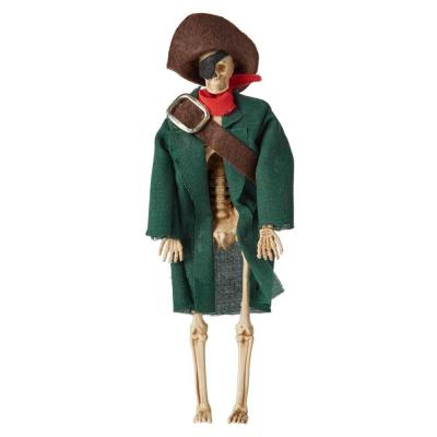 7 in Pose-N-Stay Mini Pirate Skeleton