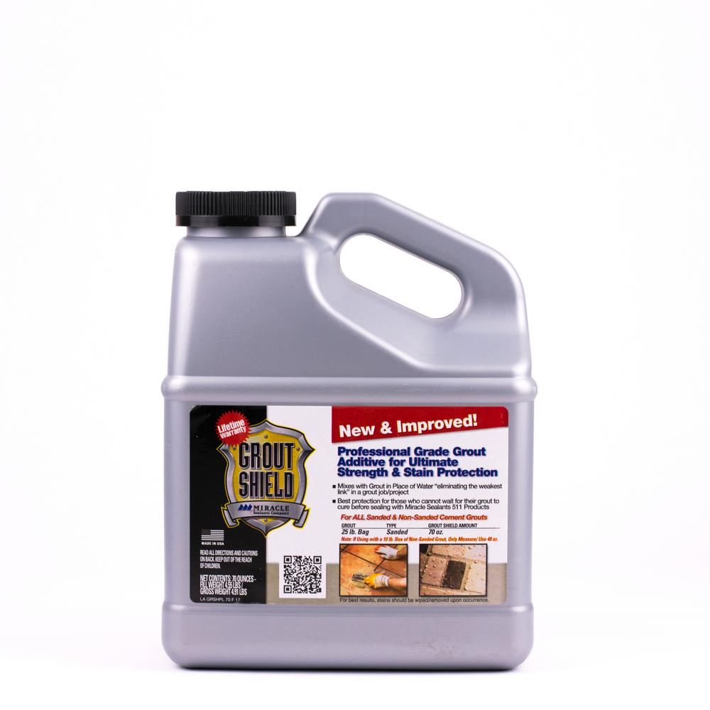 Miracle Sealants 70 oz. Grout Shield New and Improved-GR SH N&I 2/1 ...