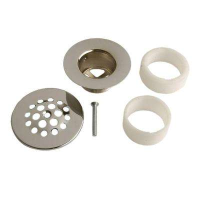 Chrome Tub Drain - Strainer Style