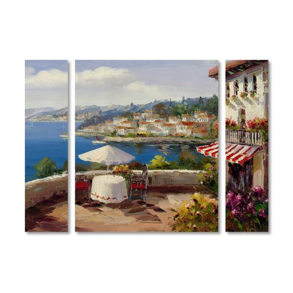 - Van-Go Paint-By-Number Kit 24 Italy Collection Tuscany Landscape
