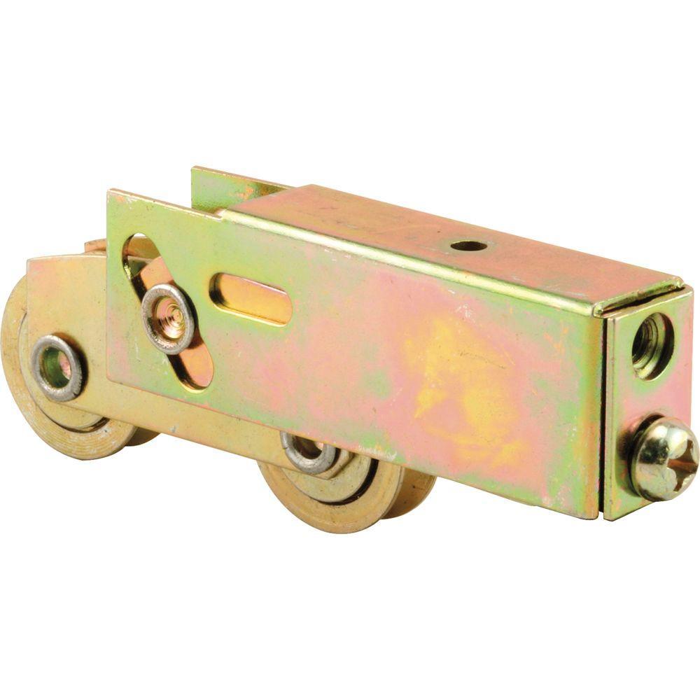 Prime Line 1 in. Steel Sliding Door Tandem Roller Assembly